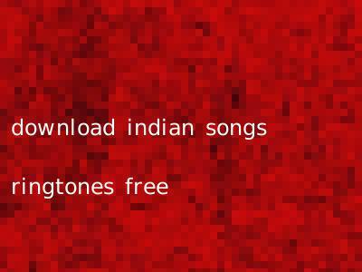 download indian songs ringtones free