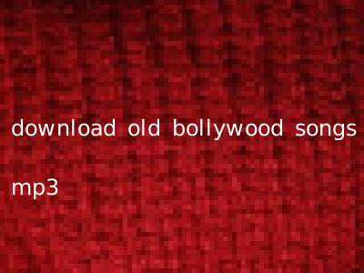 download old bollywood songs mp3